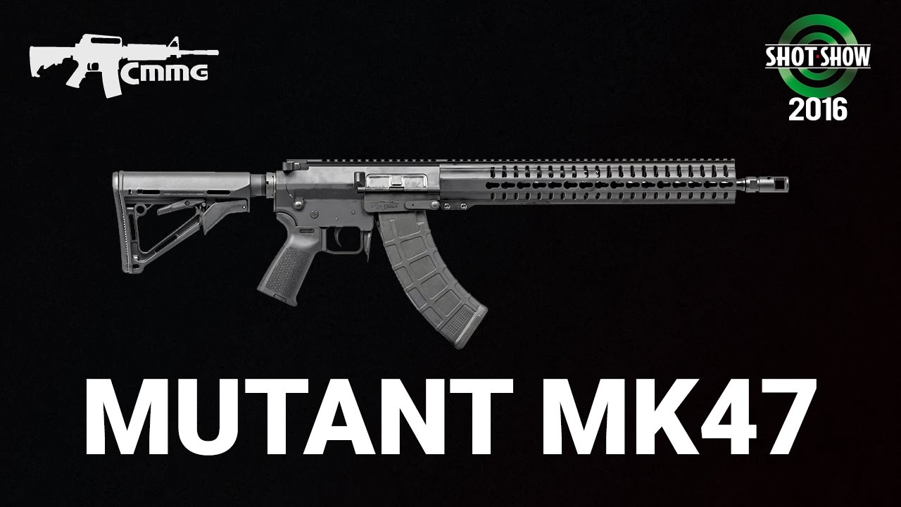 CMMG Mutant MK47 - SHOT Show 2016 Range Day