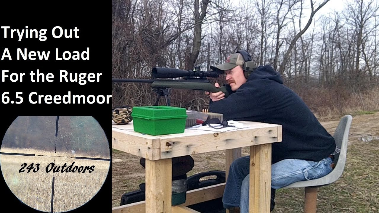 Trying Out A New Load For The Ruger American 6.5 Creedmoor
