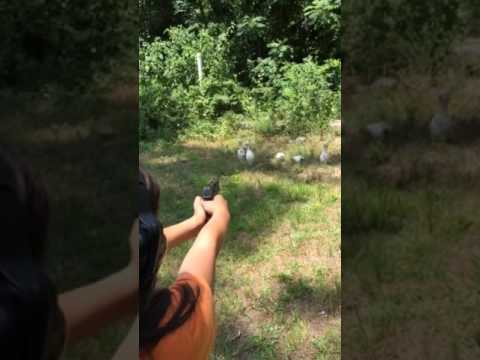 10-year-old girl shoots 9MM Steyr M9