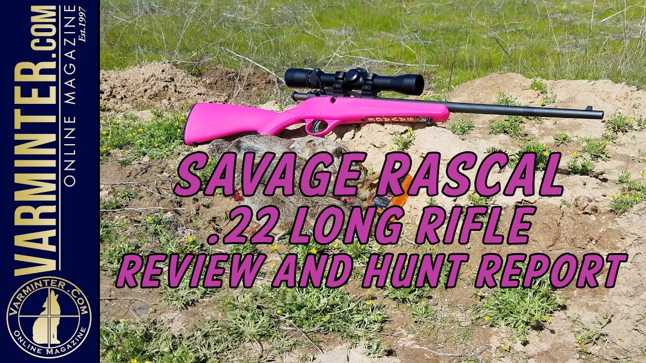 Savage Rascal 22 Long Rifle Review and Hunt Report