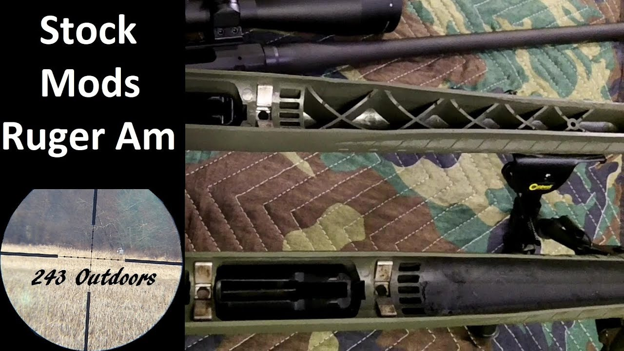 Stock Modifications for the Ruger American