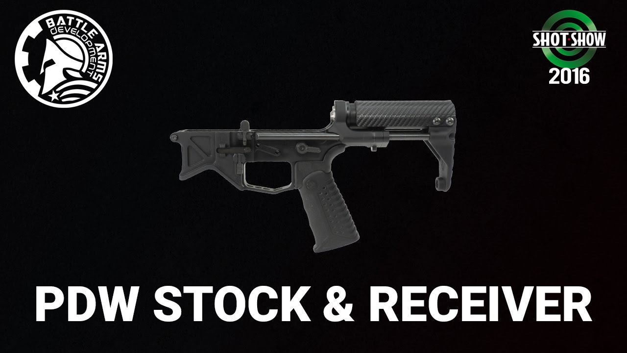Battle Arms PDW Stock and Receiver - SHOT Show 2016