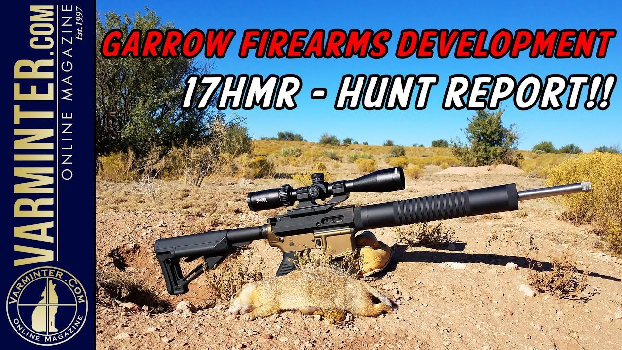 Garrow Firearms Development 17HMR Hunt Report - Prairie Dogs!