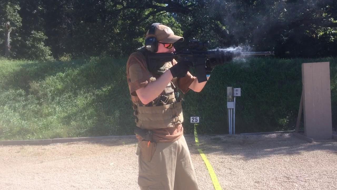 Shooting my Armalite Model 15 (Ar15)