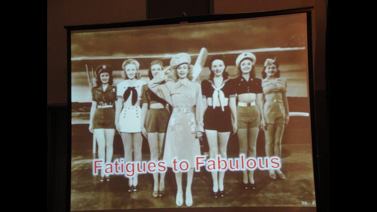 Women's Military Fashion Show at 2013 Women' Veteran Summit / Tacoma, WA