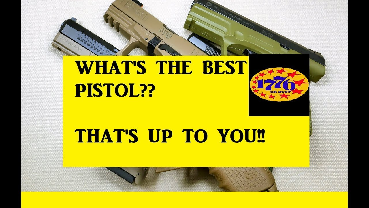WHAT IS THE BEST POLYMER CONCEALED CARRY??  THAT'S UP TO YOU!