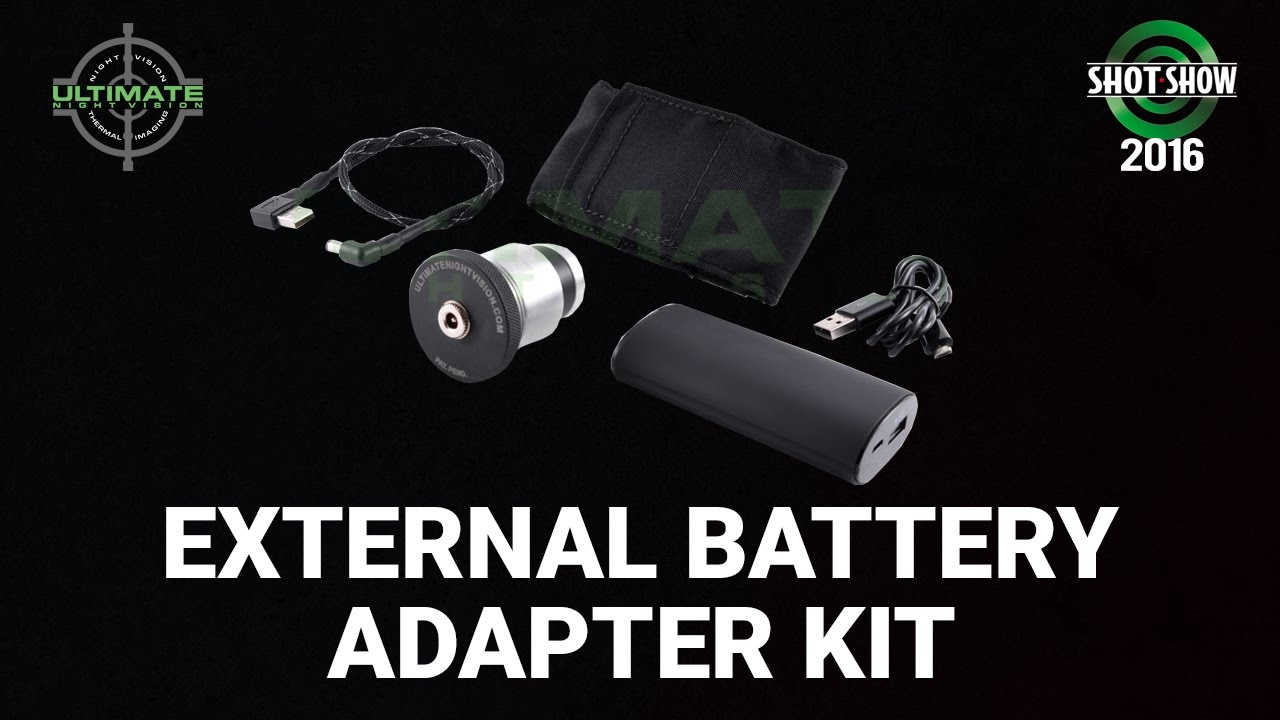 Ultimate Night Vision External Battery Adapter Kit - Show 2016