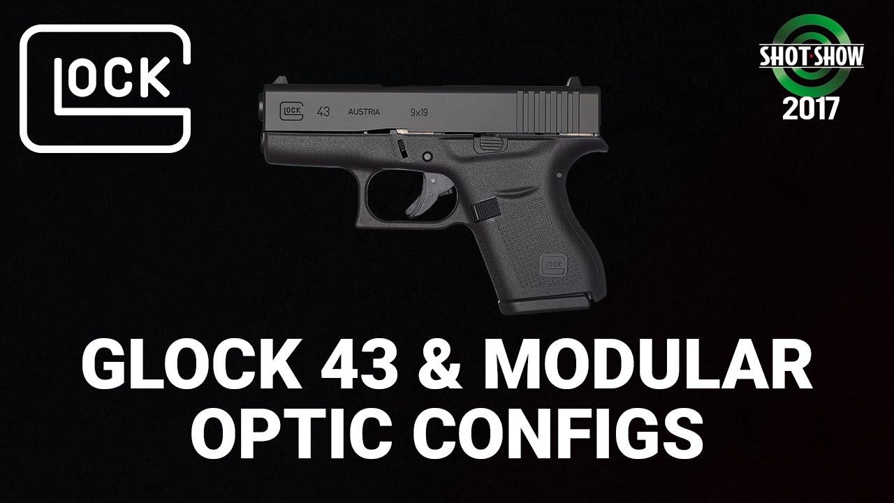 Glock G43 and Modular Optic Configs - SHOT Show 2017 Range Day