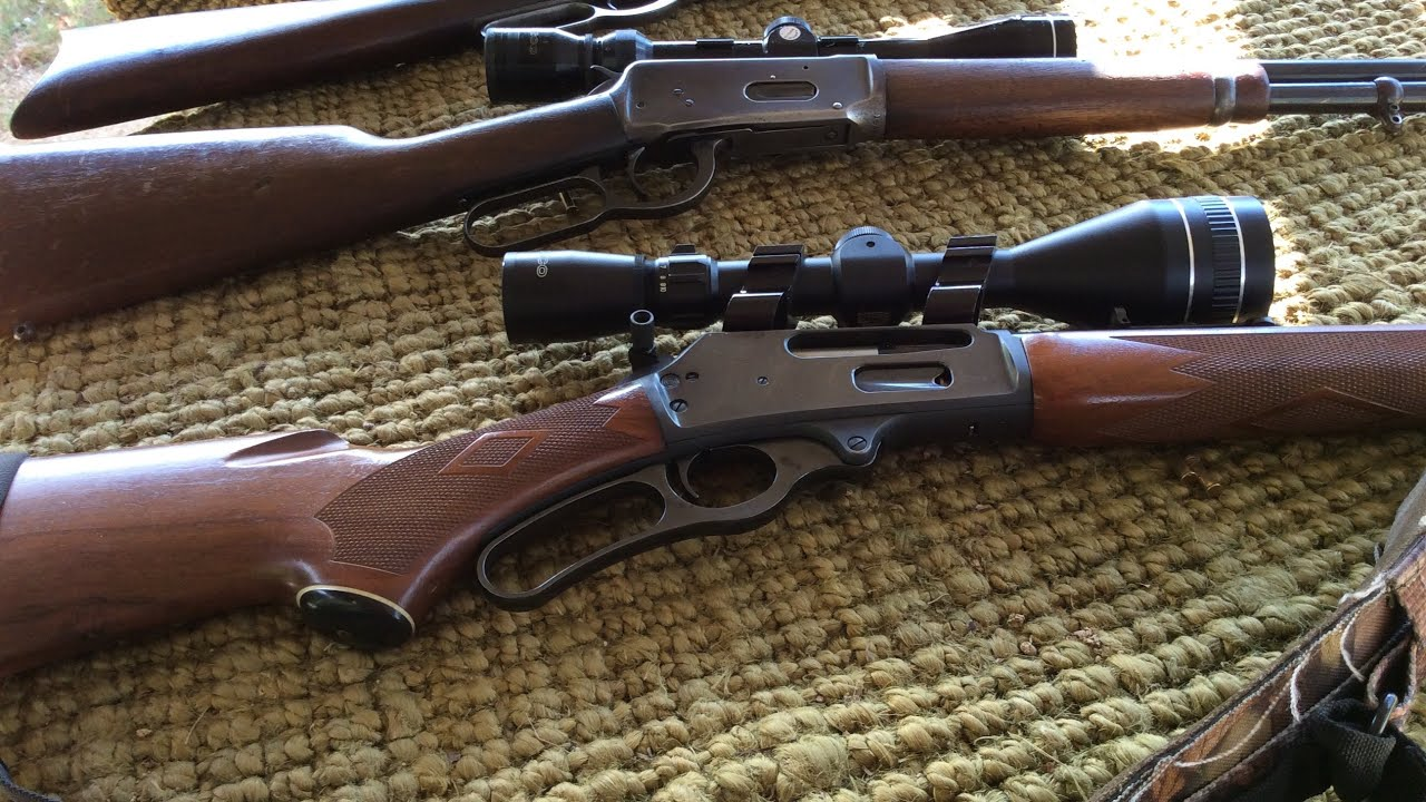 336 Marlin 30-30 vs 94 Winchester in 32 special  vs 92 Winchester  32 wcf Lever Actions