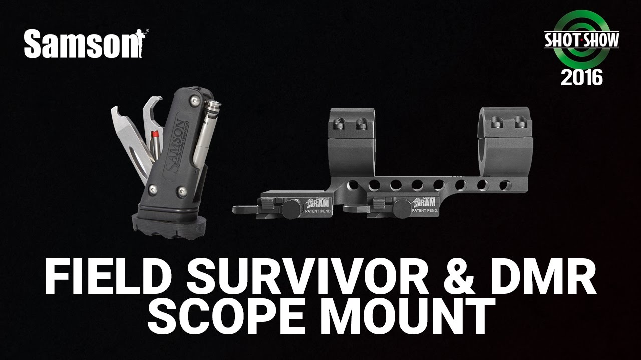 Samson Manufacturing Field Survivor and DMR - SHOT Show 2016