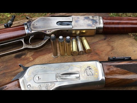1876 Winchester 50-95 WCF 🆚 1886 Winchester 45-70 gov Big boy calibers Halloween