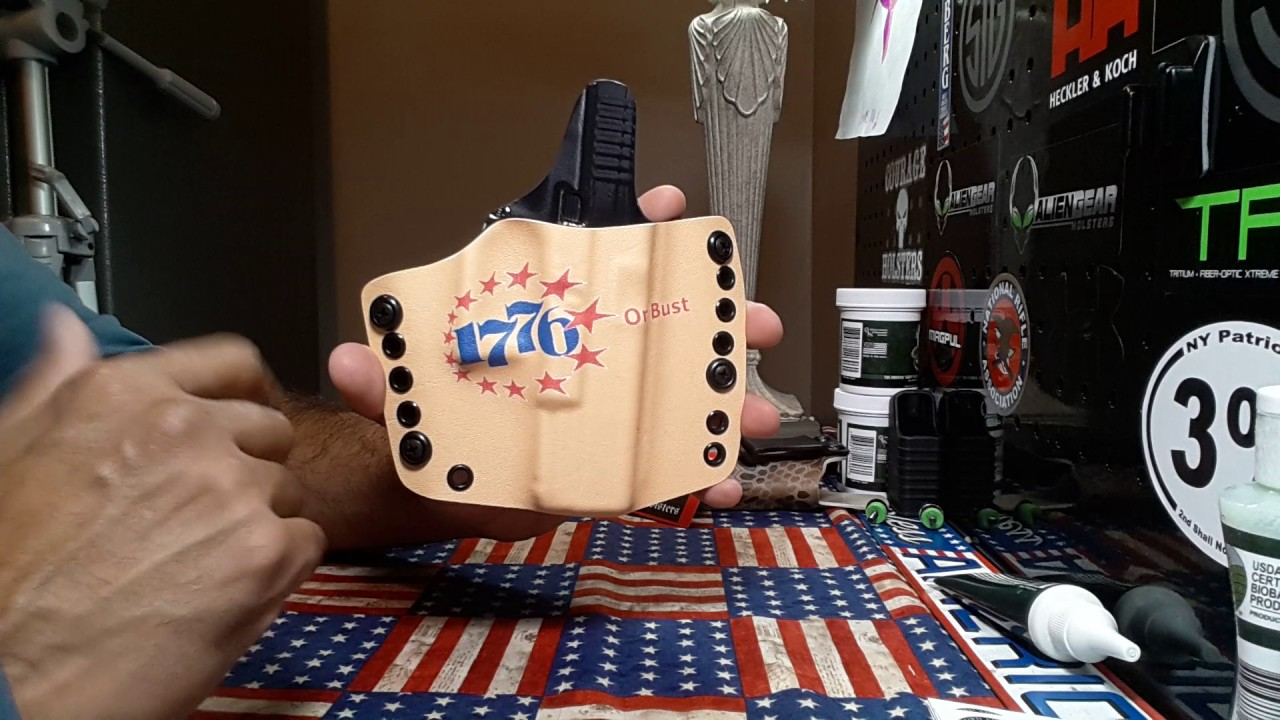 Courage Holsters: totally custom and totally awesome again!!
