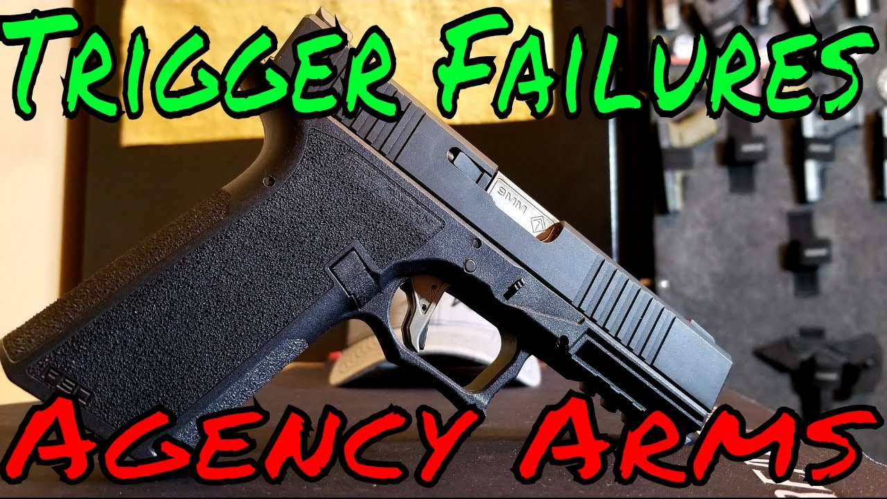 Agency Arms Trigger Failure Battery/Bang Issues!