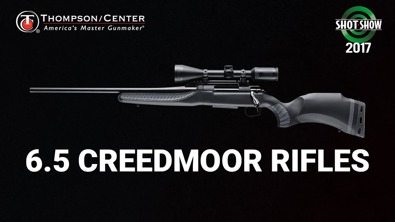 Thompson Center 6.5 Creedmoor Rifles - SHOT Show 2017 Range Day