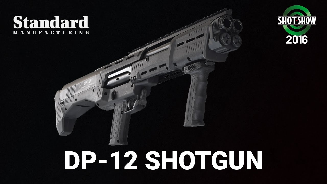 Standard Manufacturing DP-12 Shotgun - SHOT Show 2016 Range Day
