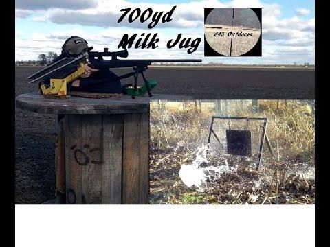700 Yard Milk Jug in 9 shots