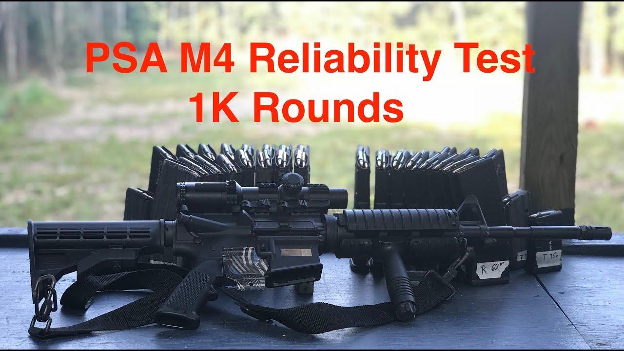1K Round Reliability Test, PSA M4