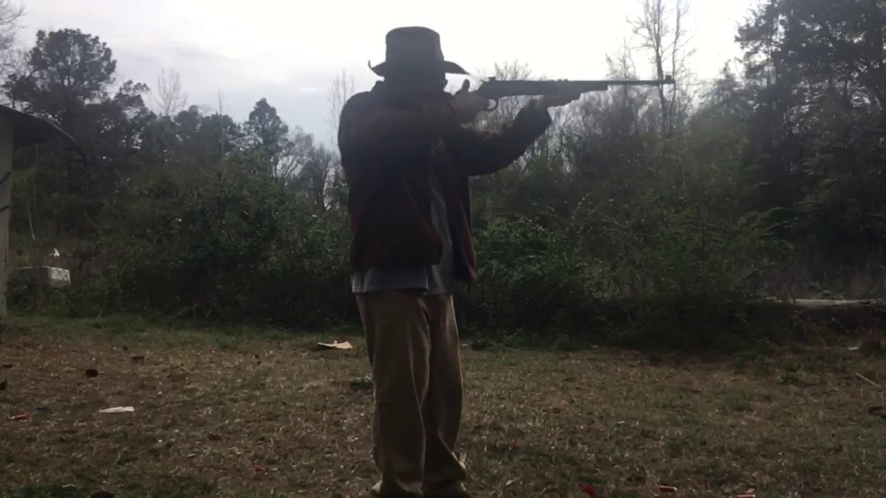 Two shots a second with a high-powered lever action