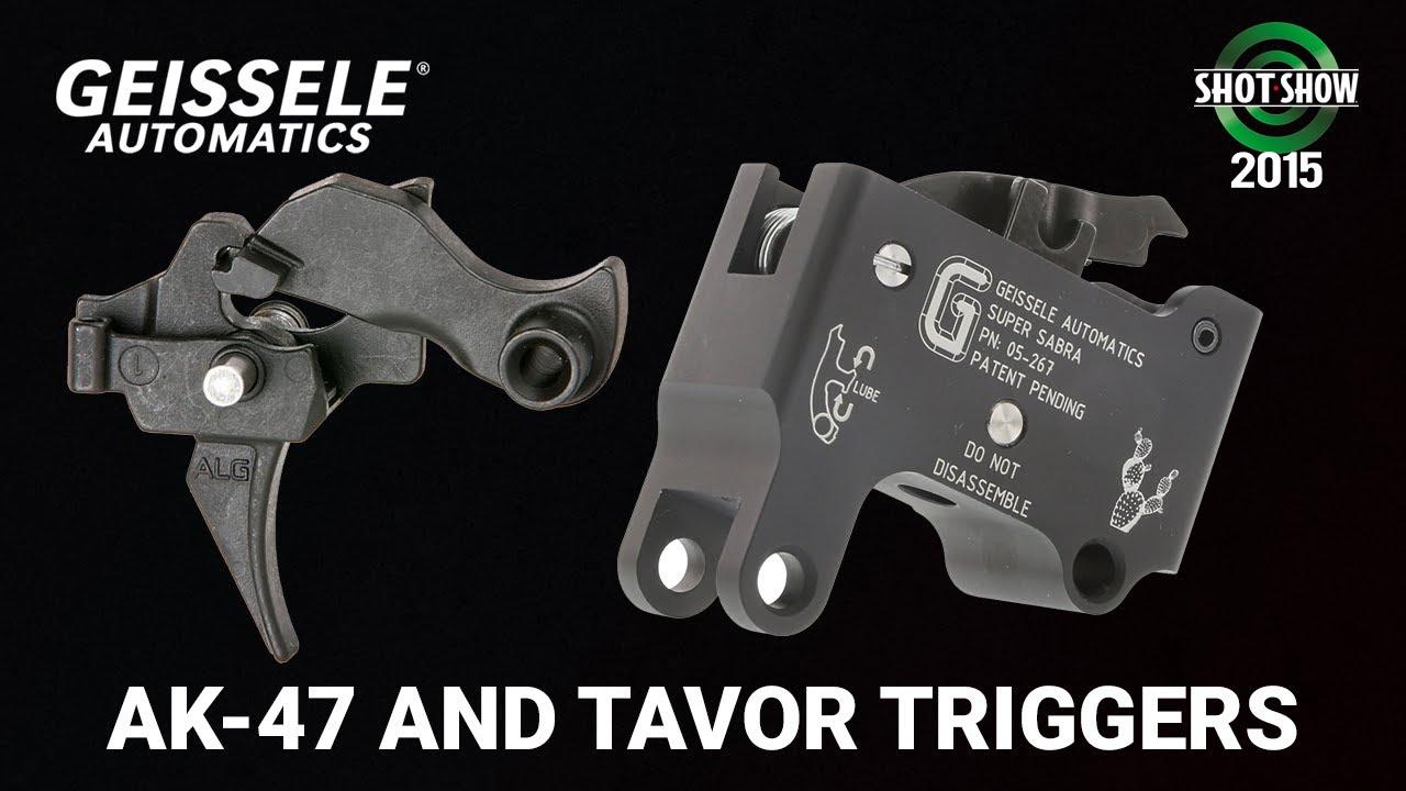 Geissele AK-47 and Tavor Triggers - SHOT Show 2015