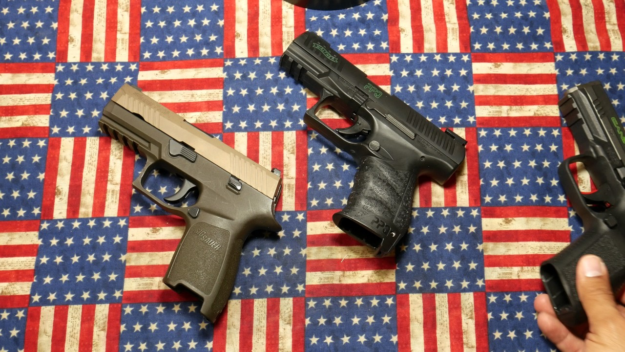 SIG P320 AND WALTHER PPQ