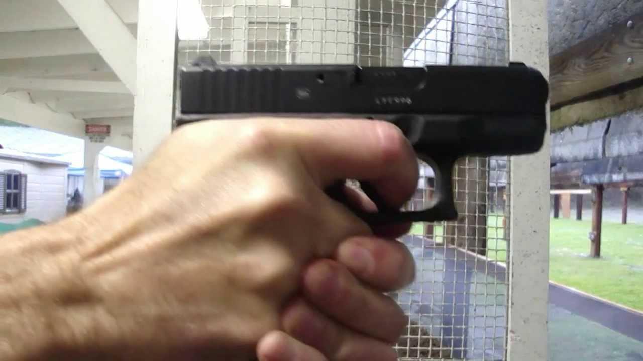 Glock 27 at the Range