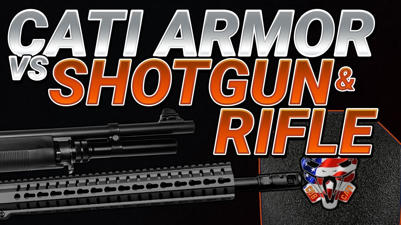 Can CATI's new steel pistol rated armor hold up to rifle ammo?