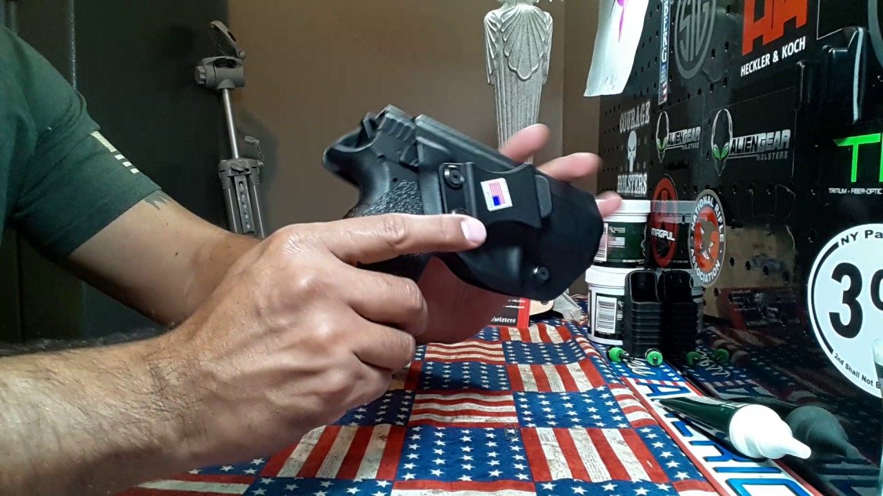 Clinger Holsters:  The leather back one week later