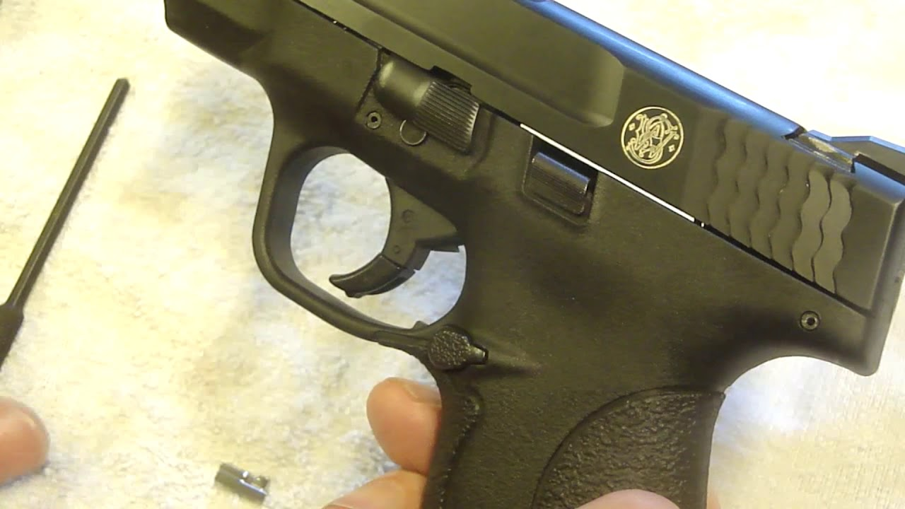 Smith & Wesson Shield  / Should You Perform a Trigger Job?