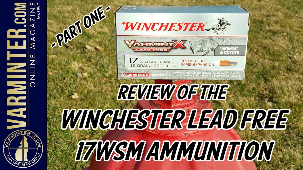 Winchester 17WSM Lead Free Ammunition Review - Part One