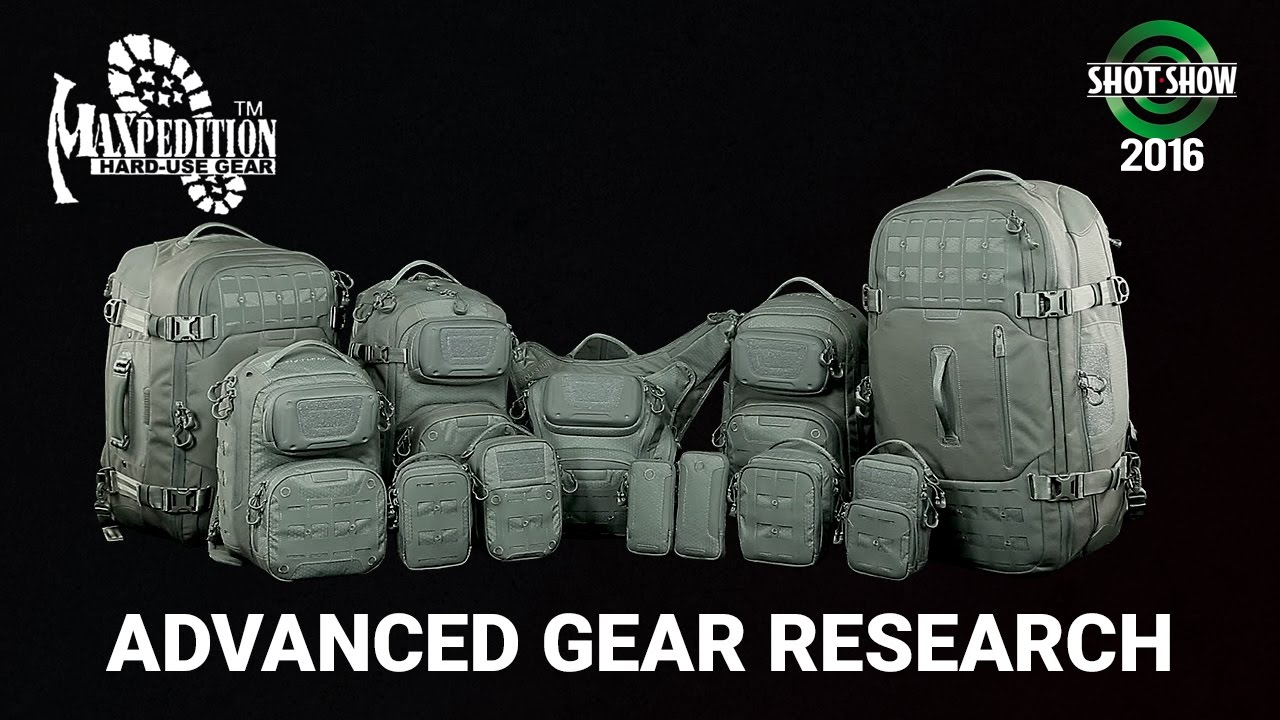 Maxpedition Advanced Gear Research AGR - SHOT Show 2016