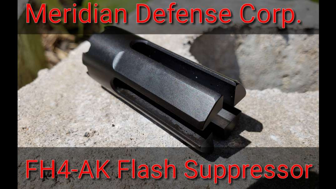 FH4-AK Flash Hider by Meridian Defense Corp