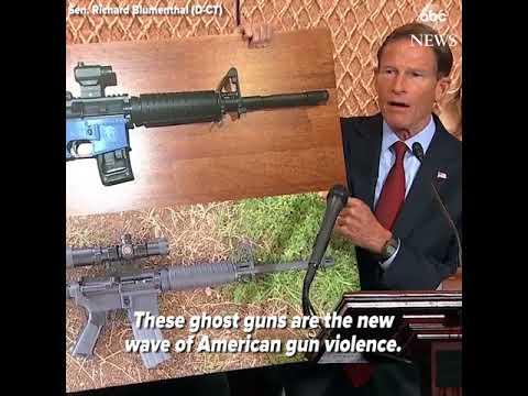 Sen. Richard Blumenthal Guntard of the week coming to a press conference near you.