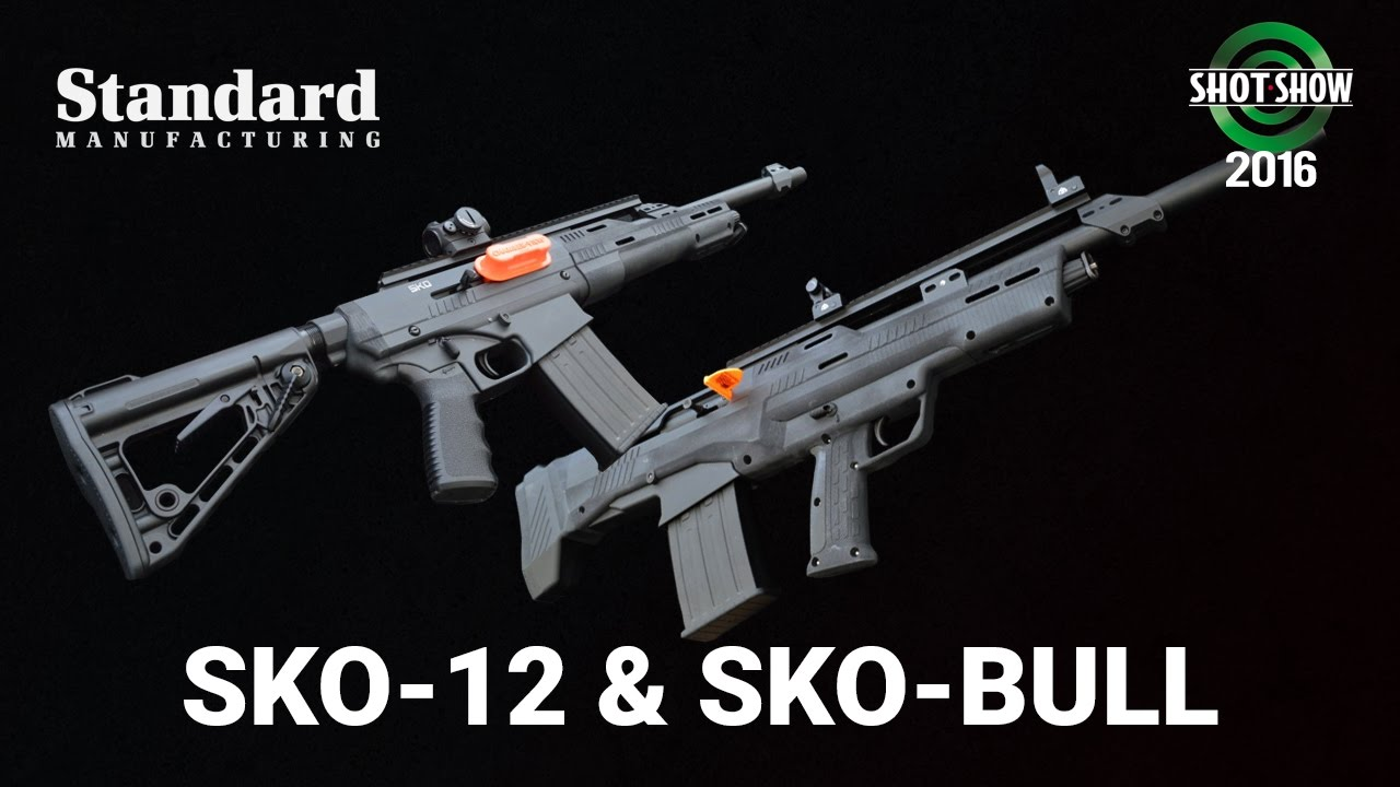 Standard Manufacturing SKO-12 and SKO-BULL - SHOT Show 2016 Range Day