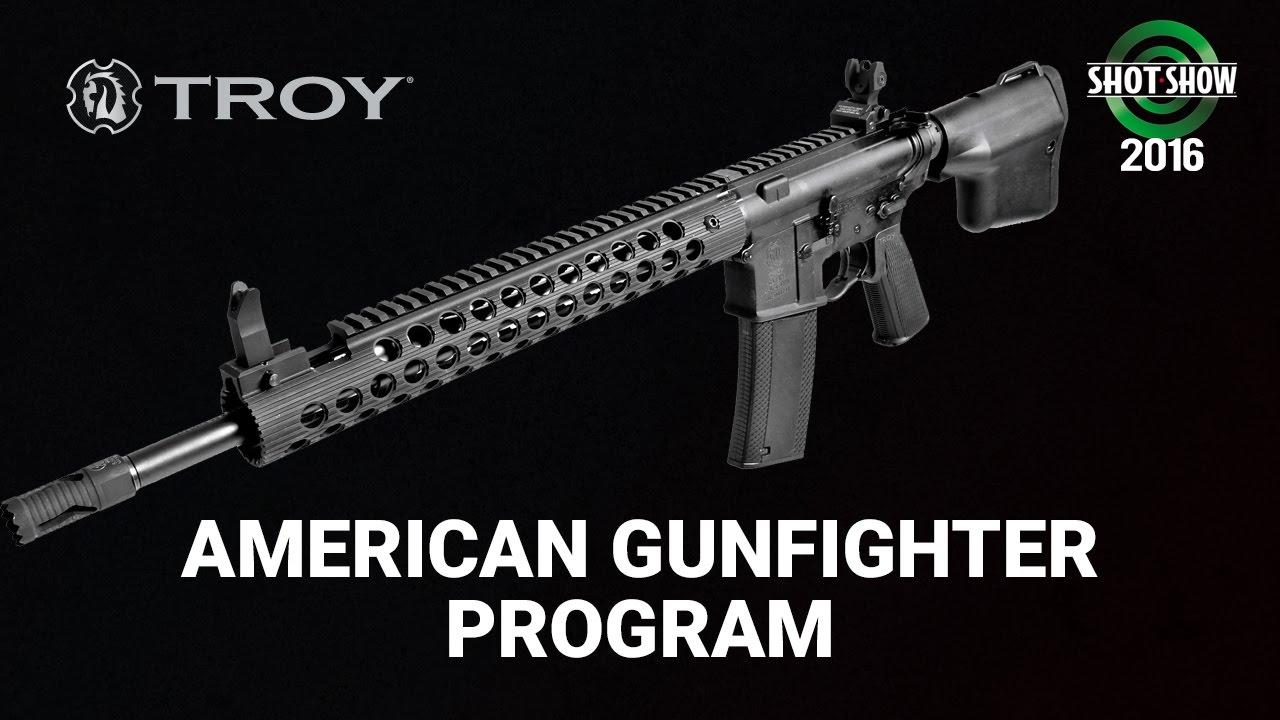 Troy Industries American Gunfighter Program - SHOT Show 2016