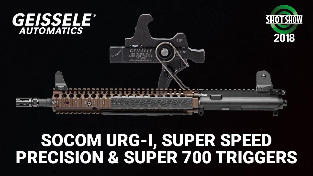 Geissele Socom Upper Receiver Group, SSP & Super 700 Triggers  - SHOT Show 2018 Day 1