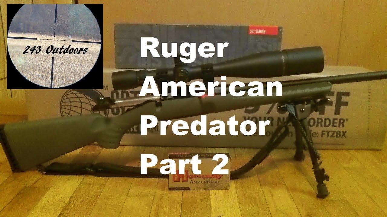 Ruger American Predator 6.5 Part 2