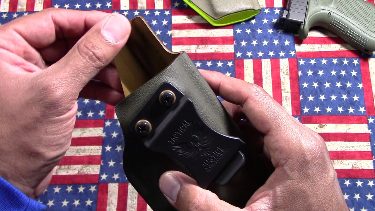 Tactical Justice: Awwesome IWB holster