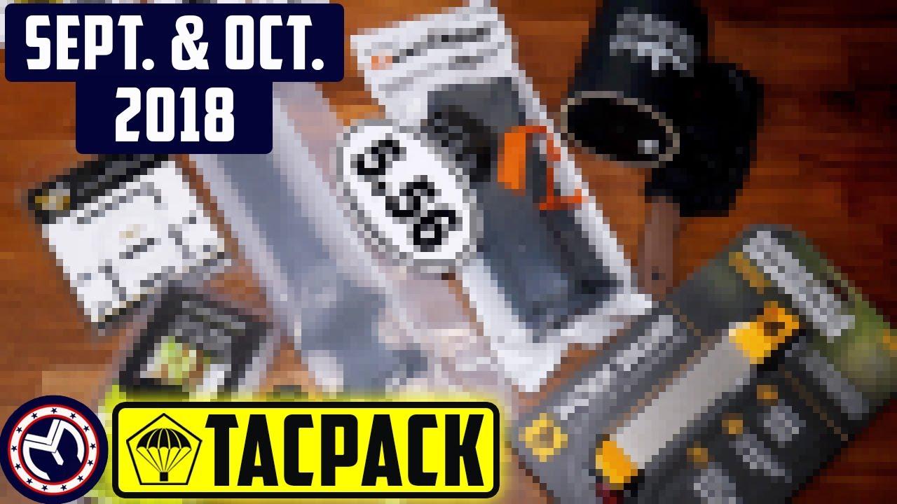 TacPack   Sept. & Oct. Opening   MustyYeti