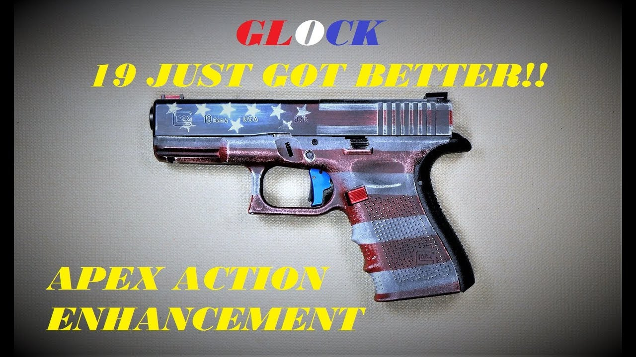 APEX ACTION ENHANCEMENT TRIGGER & GLOCK 19: GREAT UPGRADE FOR CONCEALED CARRY