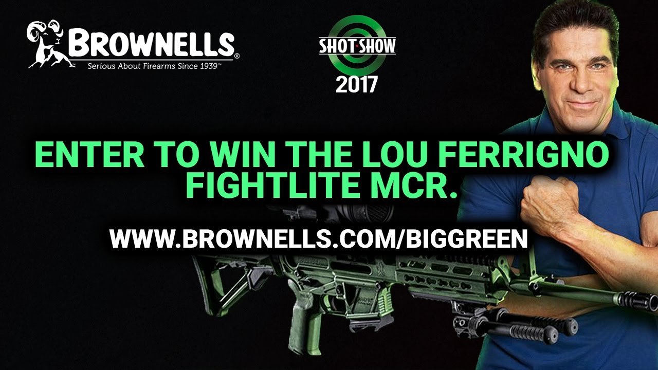 Brownells Dream Guns & New Products - SHOT Show 2017 Day 1