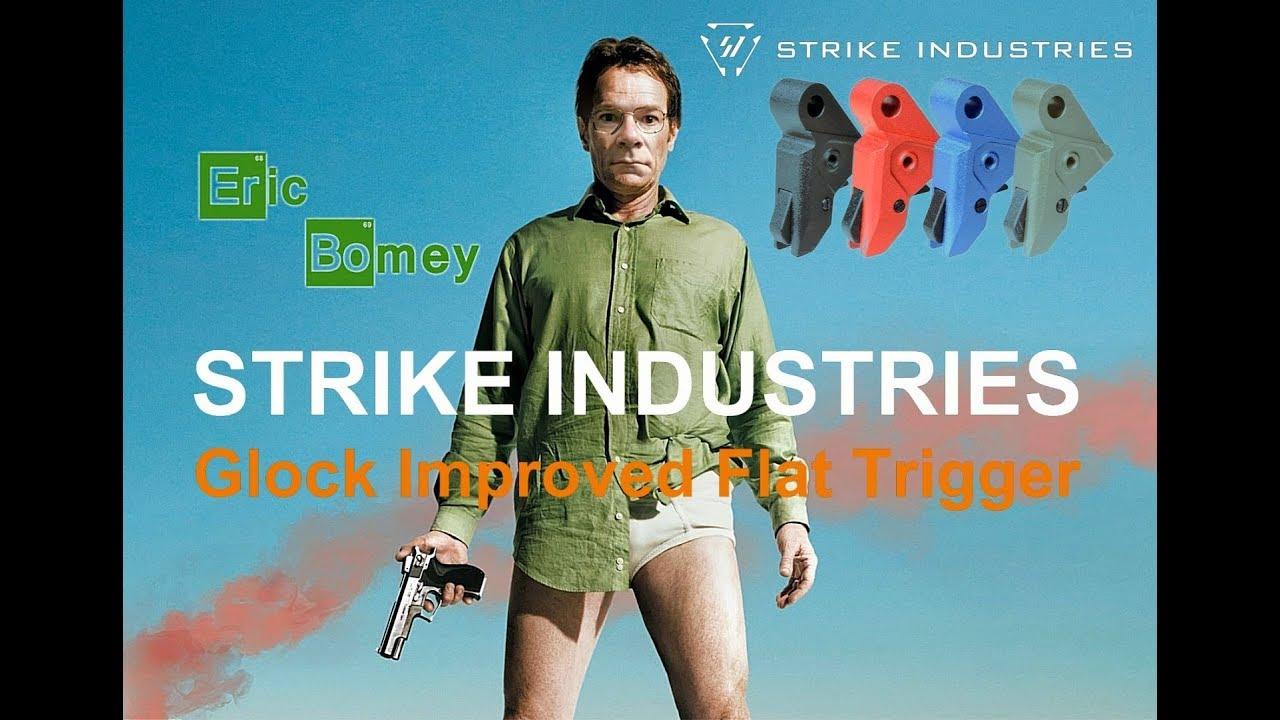Strike Industries Glock Improved Flat Trigger