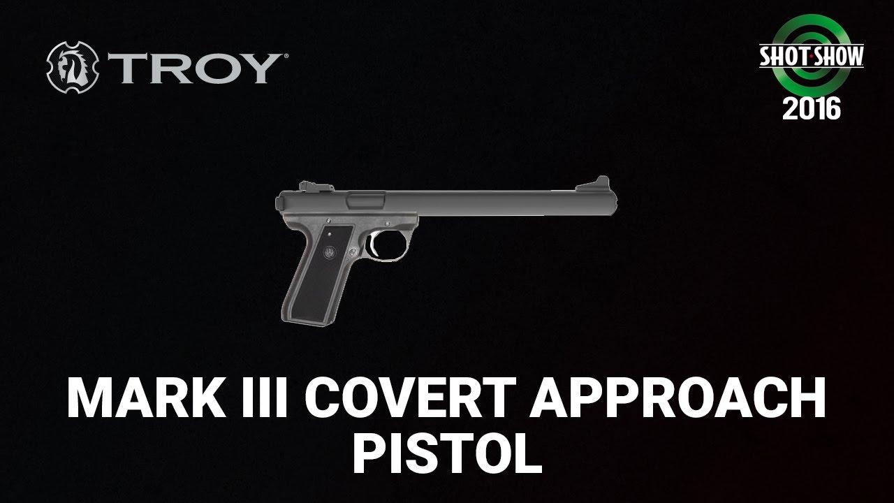Troy Industries Covert Approach Pistol - SHOT Show 2016