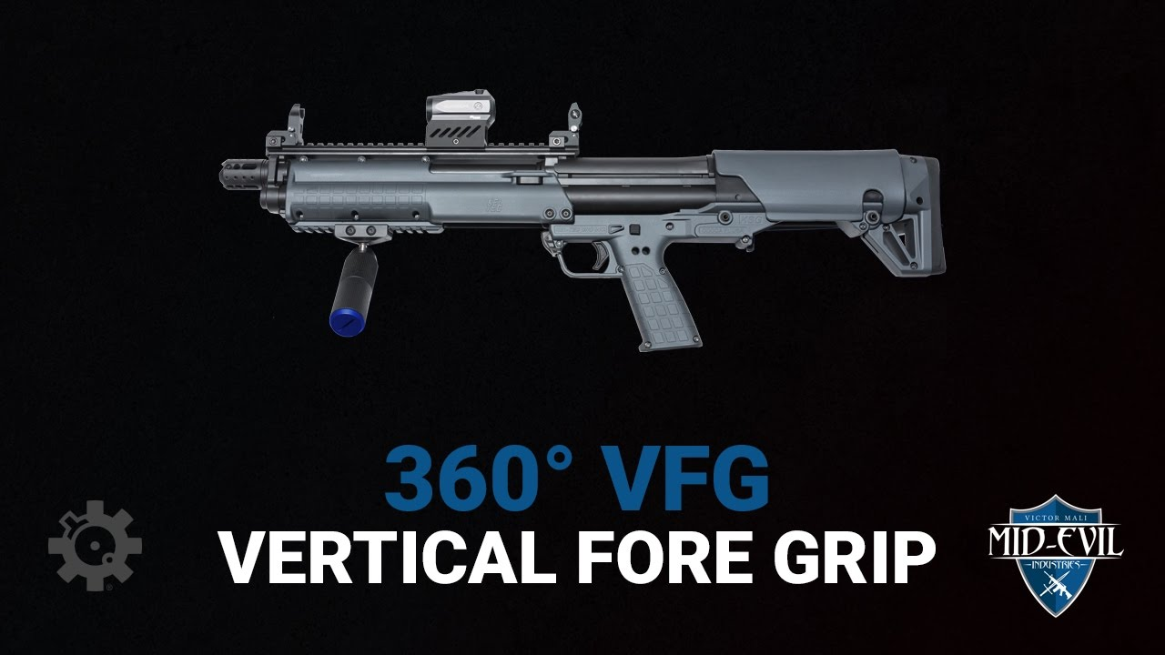 Introducing the Mid-Evil Industries 360 Vertical Fore Grip