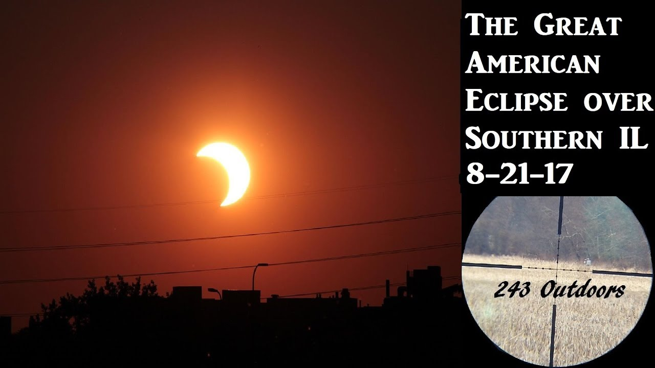 The Great American Eclipse over Southern Illinois (Time Lapse)
