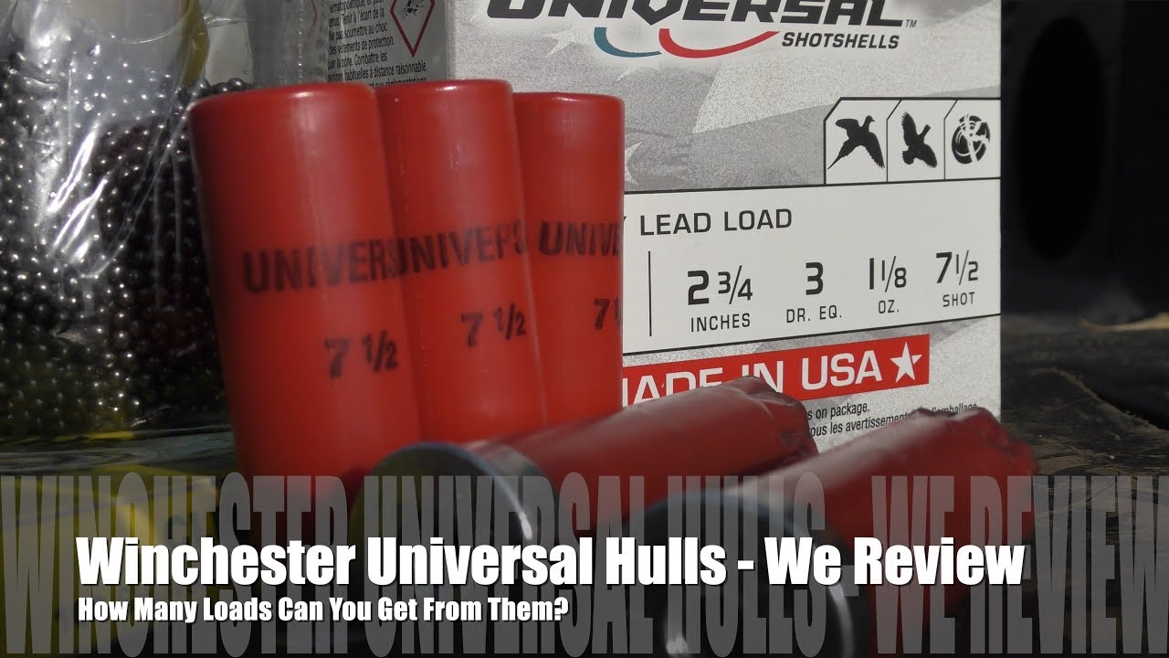 How Many Times Can You Load Winchester Universal Hulls? - We Review