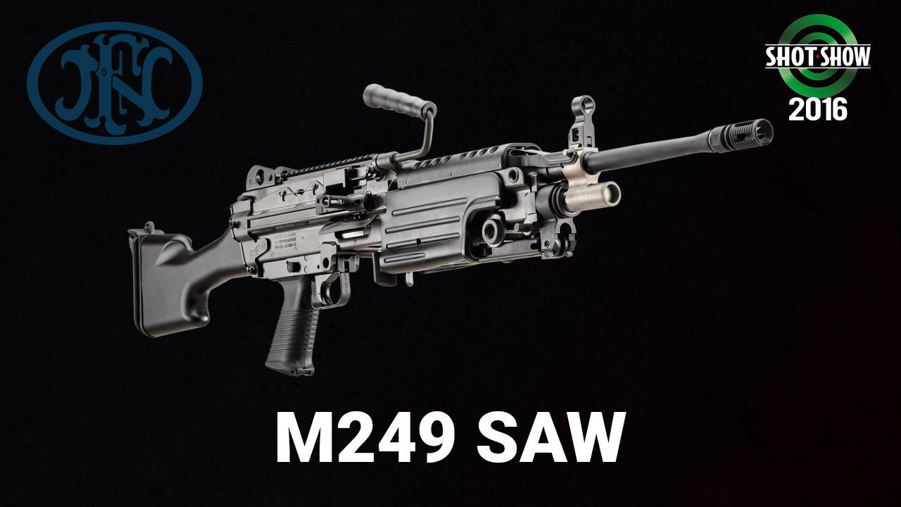FNH M249 SAW - SHOT Show 2016 Range Day
