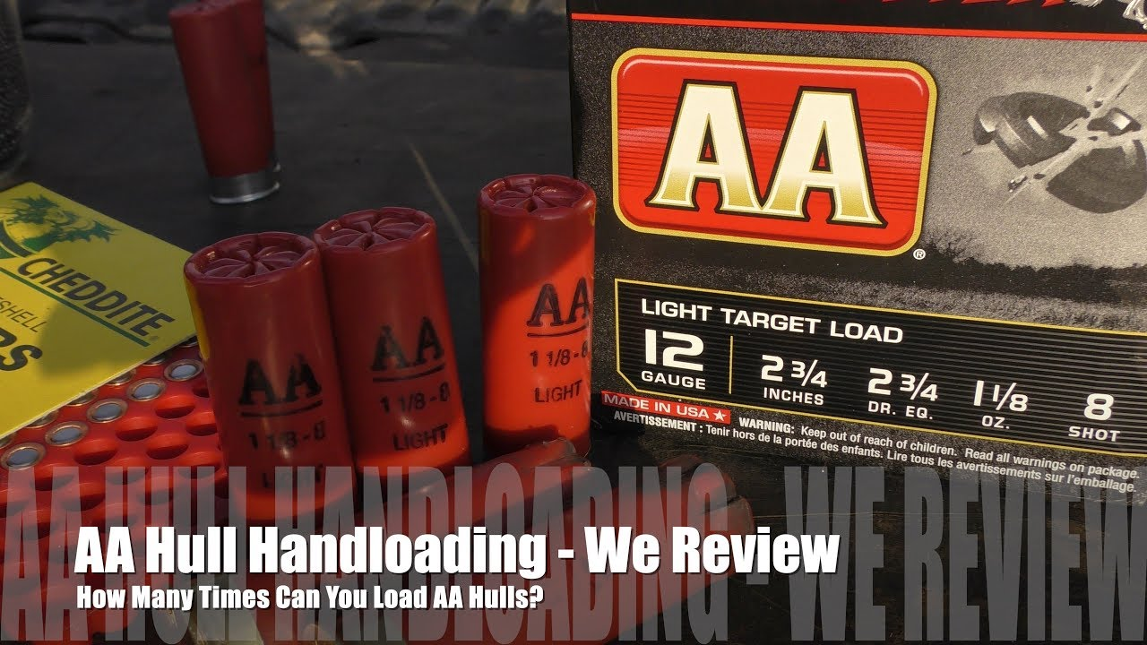 How Many Times Can You Load Winchester AA Hulls? - We Review