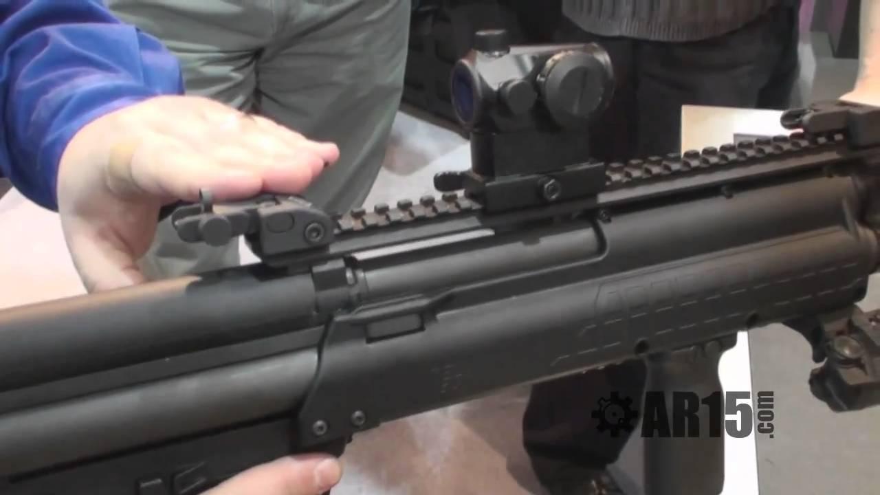Kel-Tec KSG Shotgun - SHOT Show 2011 - AR15.Com