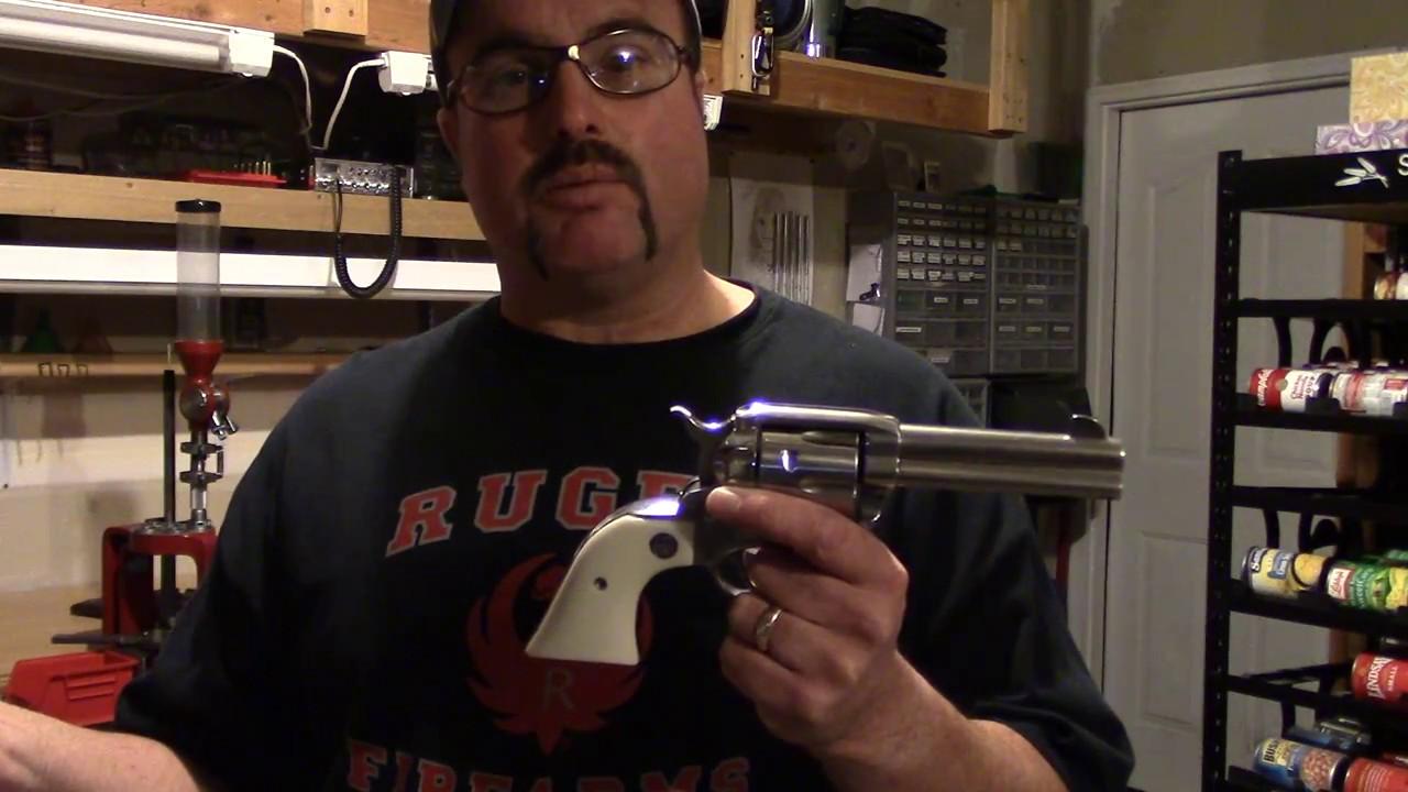 Beginning Reloading, Video 8, Basic Single Action Revolver Handling