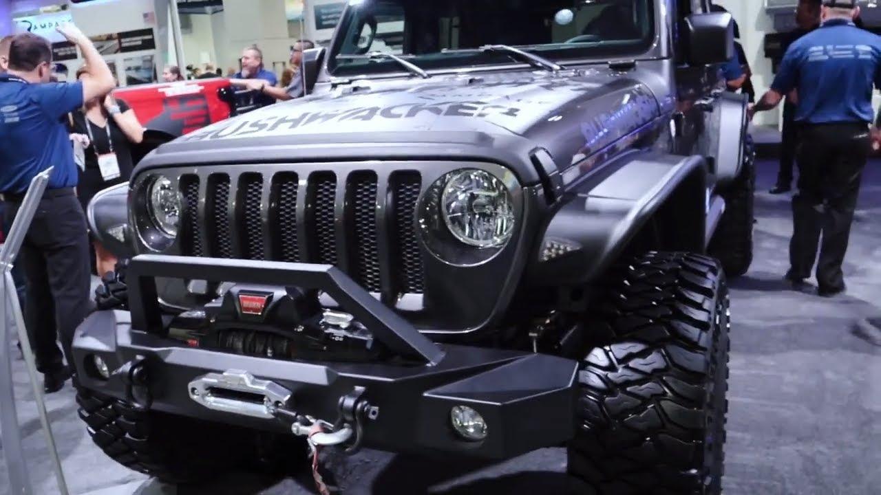 Jeep JL 2018 Grey Ghost Bushwacker SEMA Show 2018